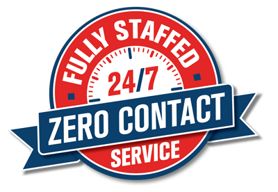 Fully Staffed 24/7 zero Contact Service